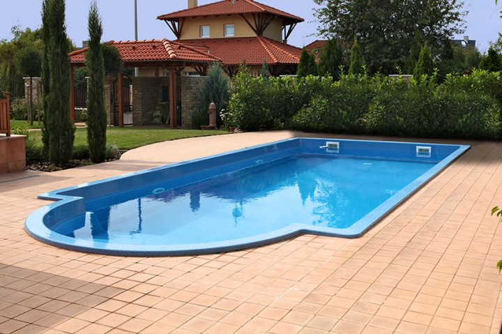 gfk pool kalipso 850 gfk pools schwimmbecken apoolco. Black Bedroom Furniture Sets. Home Design Ideas