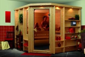 Sauna Marona 262x253x212 cm, 4 Personen