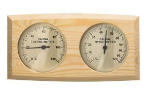 Thermo-Hygrometer Nadelholz