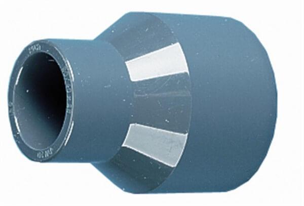 Reduzier-Stutzen, lang, 50-40-40 mm