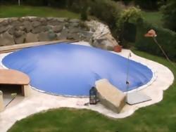 mazide aufblasbare poolabdeckung online kaufen bei apoolco. Black Bedroom Furniture Sets. Home Design Ideas