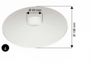 Saugplatte für Skimmer 02594