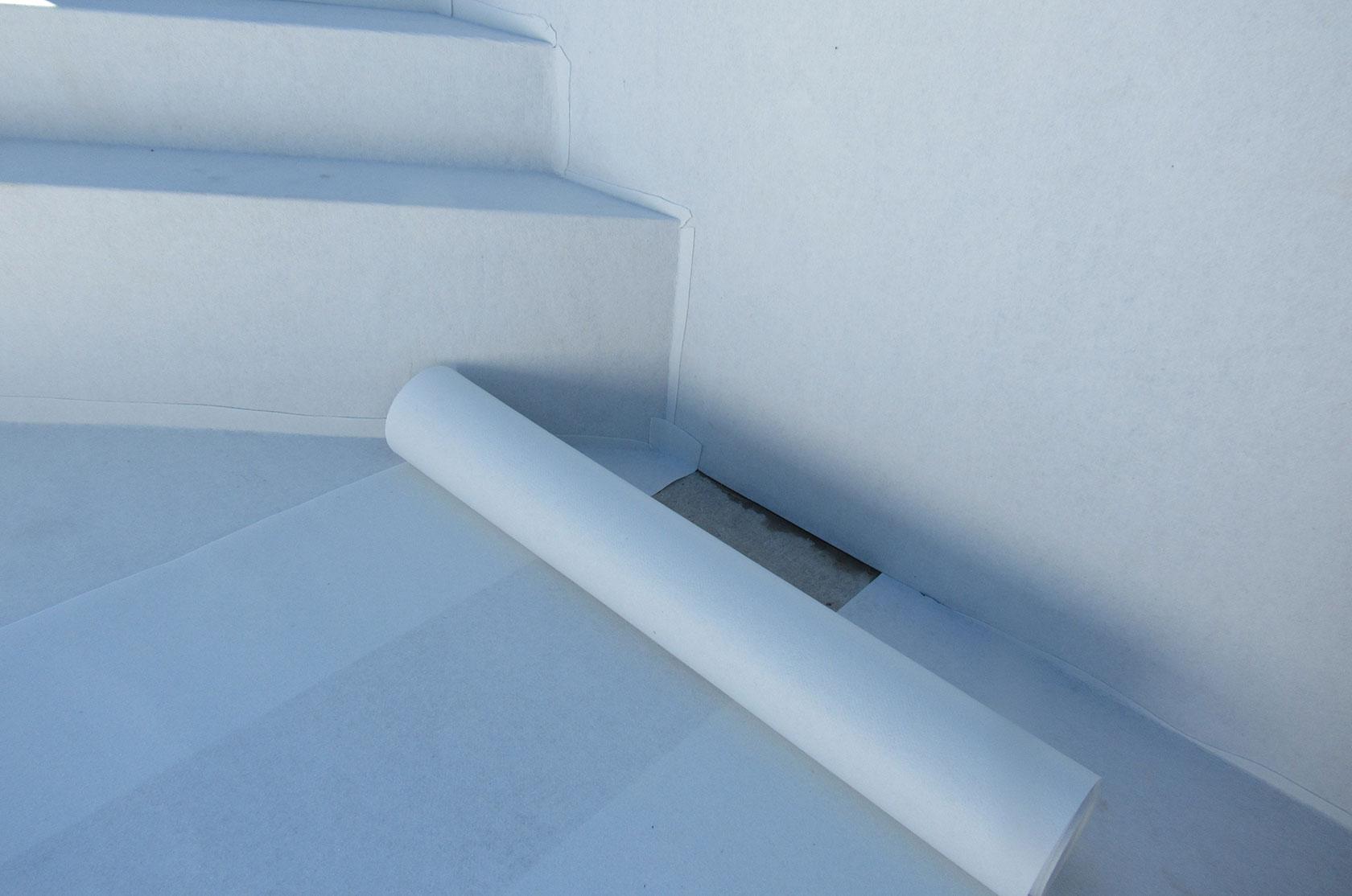 Styroporpool 600 x 300 x 150 cm komplettset mit for Poolfolie montieren
