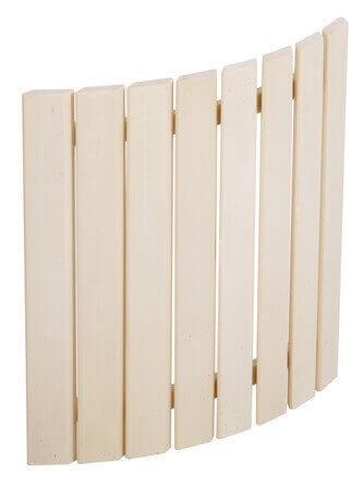 Saunalicht Abdeckung SAS21101 helles Holz