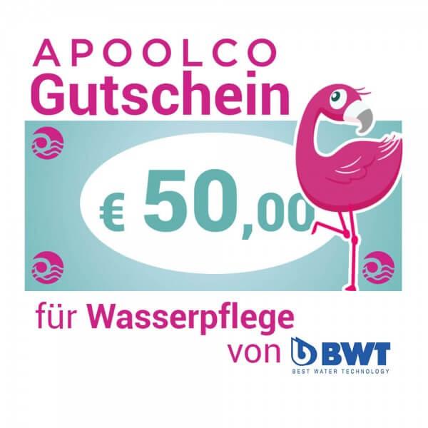 Gutschein für BWT Wasserpflegemittel 50,- €