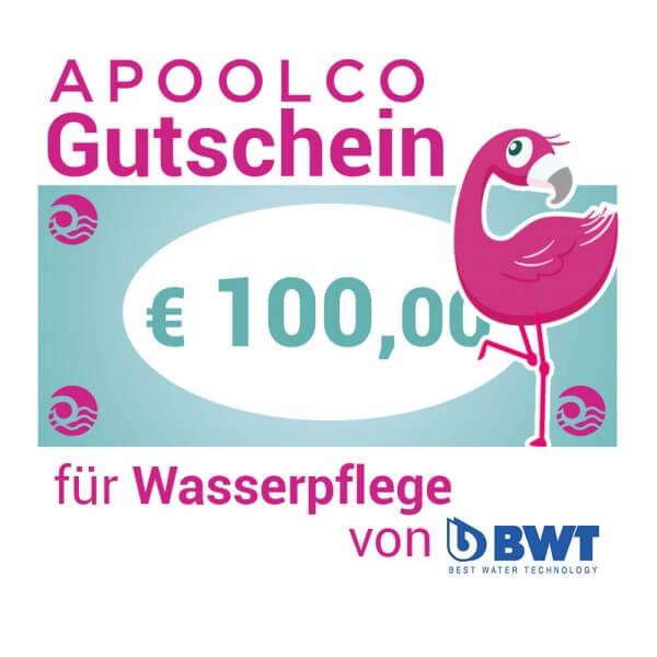 Gutschein für BWT Wasserpflegemittel 100,- €