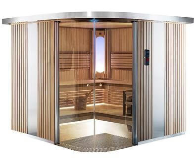 Sauna Rondium S2015KL, 195x151x203 cm, 2 Personen