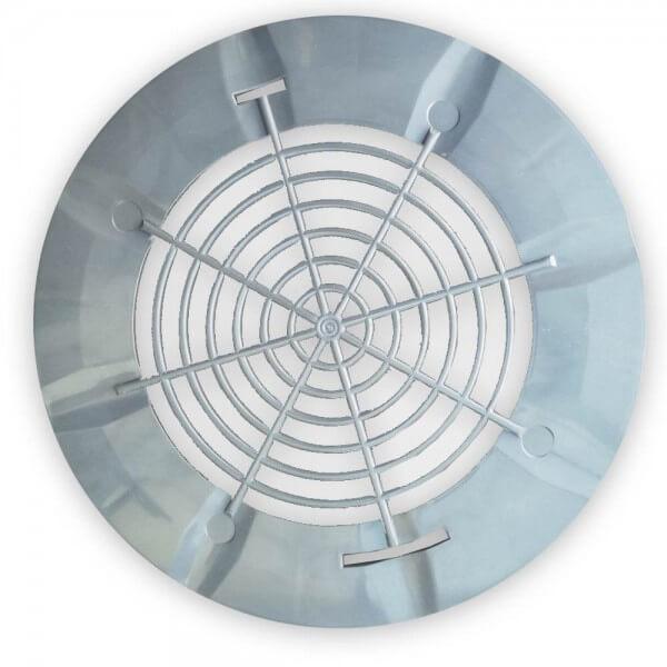 Ablaufgitterdeckel Bodenablauf in grau ohne Schrauben oder Dichtung (Procopi)