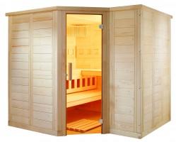Sauna Polaris Small, 206x206x204 cm, 3 Personen