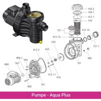 Pumpengehäuse Aquaplus 4/6/8