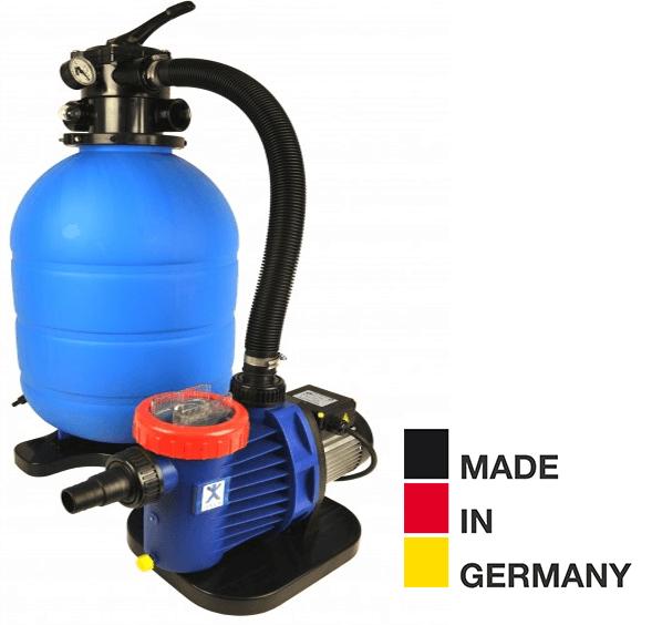 Sandfilteranlage ProAqua 400 mit SPECK Pumpe, Ø 400mm, Pumpe 8m³/h, bis 30m³