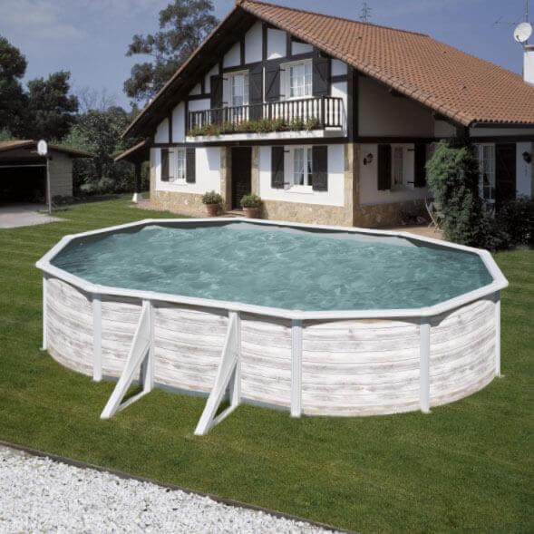Ovales Schwimmbecken kaufen