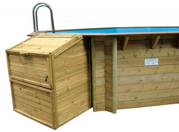Filterkasten für Holzpools von Procopi, 133 cm Höhe