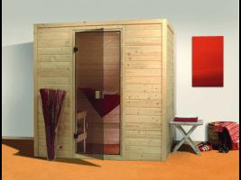 Sauna Ronja 224x158x202 cm, 2 Personen