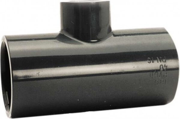 T-Stück reduziert, egal, 50-32 mm