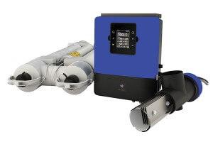 Salzelektrolyseanlage Infinity UV-Scenic , LOW SALT mit UV-Entkeimung, für 65 m³ Pools