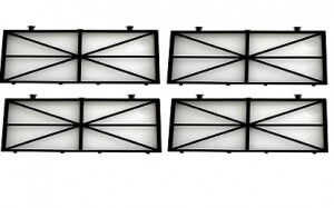 Laubfilterset im Set zu 4 Stk. 100 µ