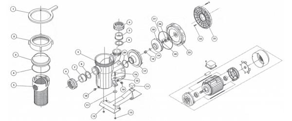 Laufrad Astral Victoria 0,75 KW (Wechselstrom) (4405010595)