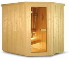 Sauna Variant Line S2015L, 195x150x203 cm, 3 Personen