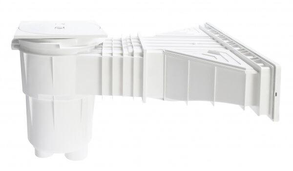 Aufpreis auf Slim Skimmer in weiß - nur beim Kauf von Styroporpools möglich