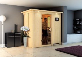 Elementsauna Variado, 196x118x198 cm, 1 Person