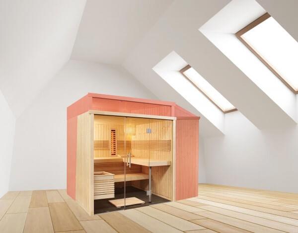 Sauna nach Maß, Carat, Elementsauna