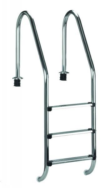 Einbauleiter Edelstahl Weit 150 cm (05490)