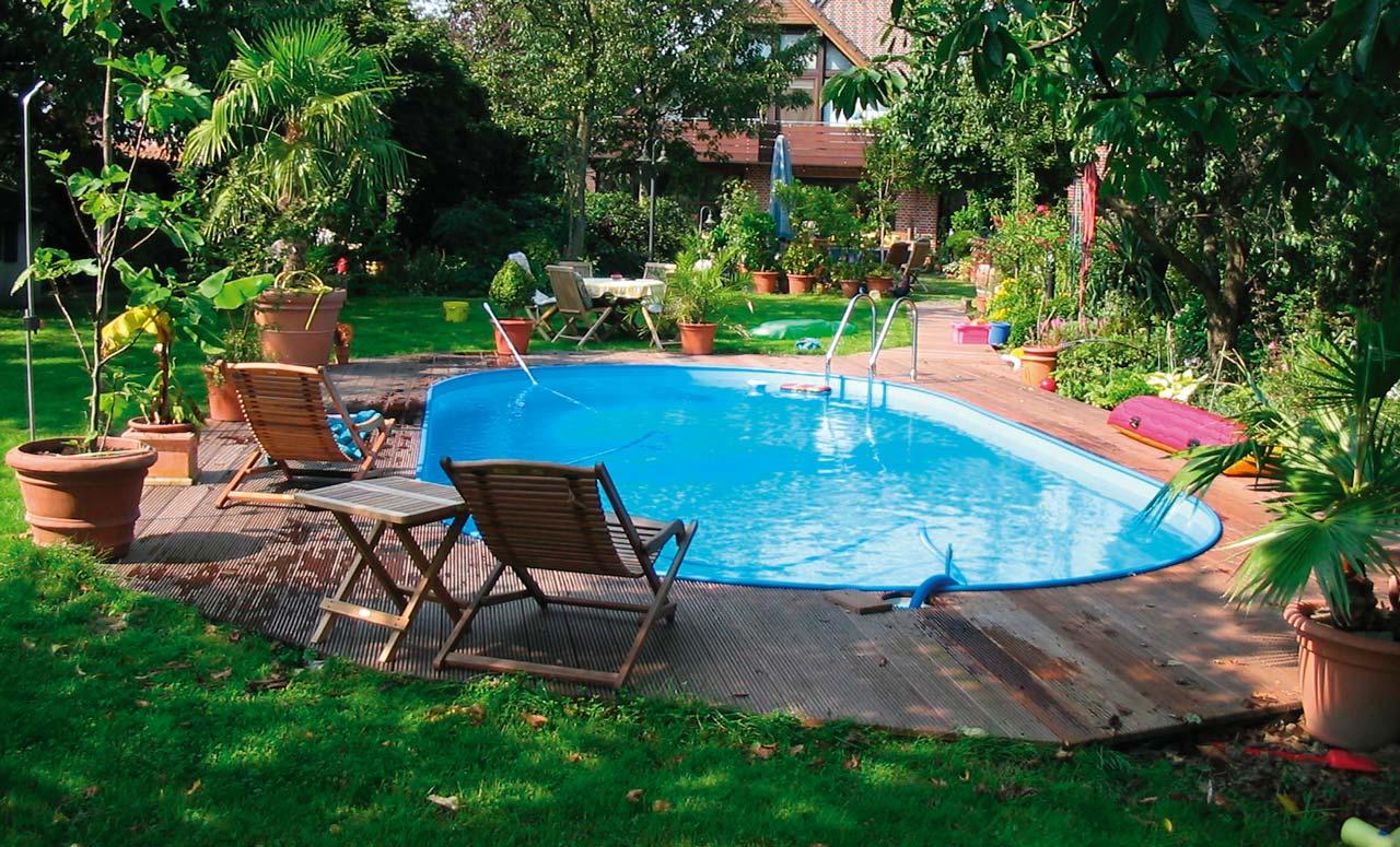 Ovalpool prime 900x500x150cm komplettset ovalpools for Pool komplettset