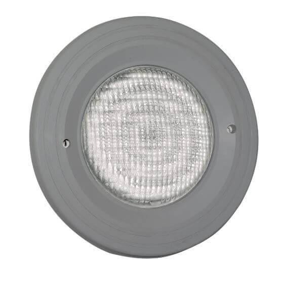 LED-Schraubscheinwerfer grau, 270 weiße LEDs, 12V/18W