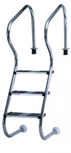 Einbau-Treppenleiter Edelstahl 150 cm (4AS)