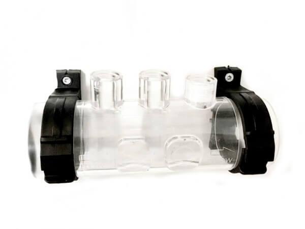 Transparenter Elektroden- & Injektorhalter + O-Ring für TECNO pH und TECNO pH Serie 2