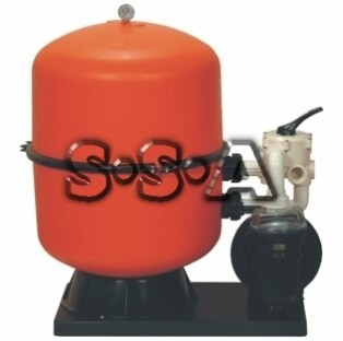 Sandfilteranlage Astral Bilbao D 600 mit Pumpe 8 m³