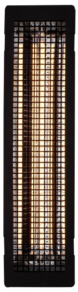 Vollspektrum-Infrarotstrahler ECO 500 - Gitter schwarz beflockt