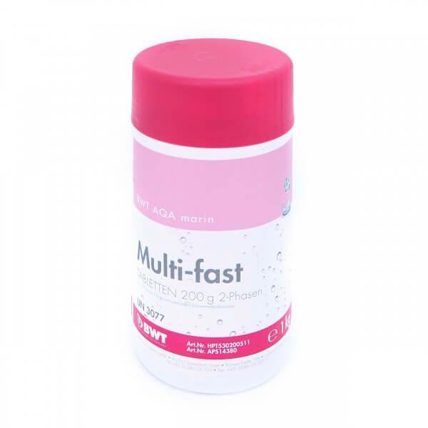 BWT AQA marin Multi-fast, Tabletten 200 g 2-Phasen, 1 kg