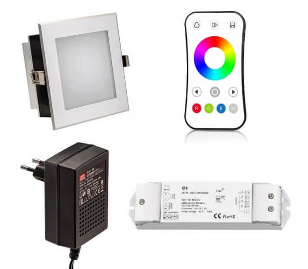 LED Spot Anschlussset 18 W