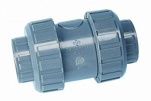 PVC Rückschlagventil, 50 mm