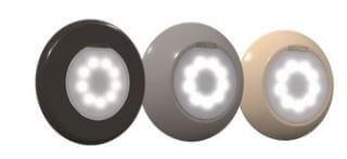 Lumiplus FlexiNiche V1 LED-Komplettscheinwerfer anthrazit (17805+28138+71209CL144+71200)