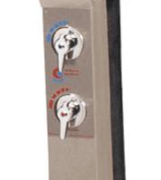 Warmwasserhahn für Solardusche Edelstahl (MP50596)