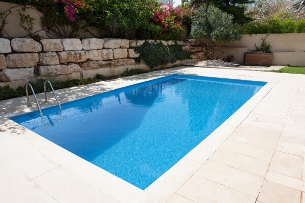Styropor Pool 800 x 400cm Komplettset mit Leiter von Apoolco Premium
