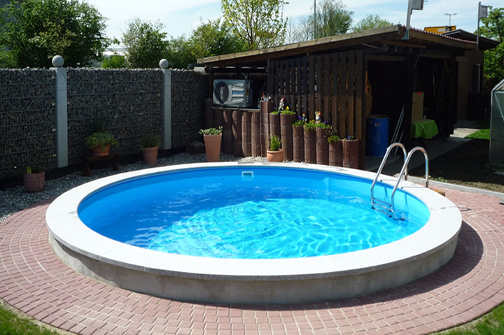 pool bodenplatte ohne beton mit conzero. Black Bedroom Furniture Sets. Home Design Ideas