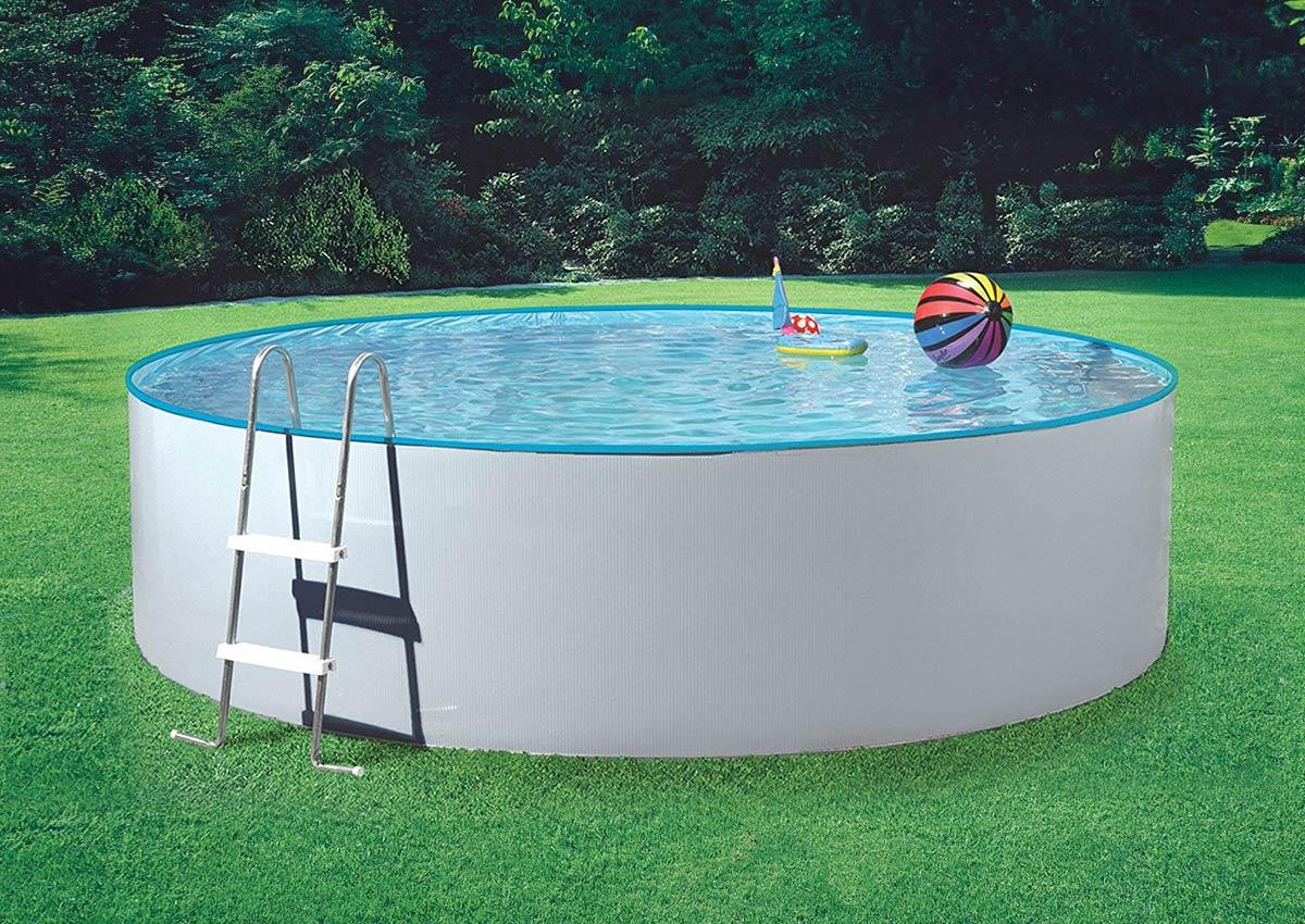 Rundpool splash 300 x 90cm komplettset inkl for Holzpools komplettset