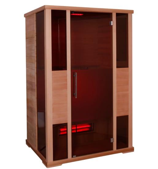 infrarotkabine ph nix large 145x102x200 cm 4 personen infrarotkabinen mit. Black Bedroom Furniture Sets. Home Design Ideas