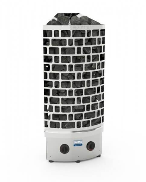 Saunaofen ARI Corner 7,5 kW - integrierte Steuerung