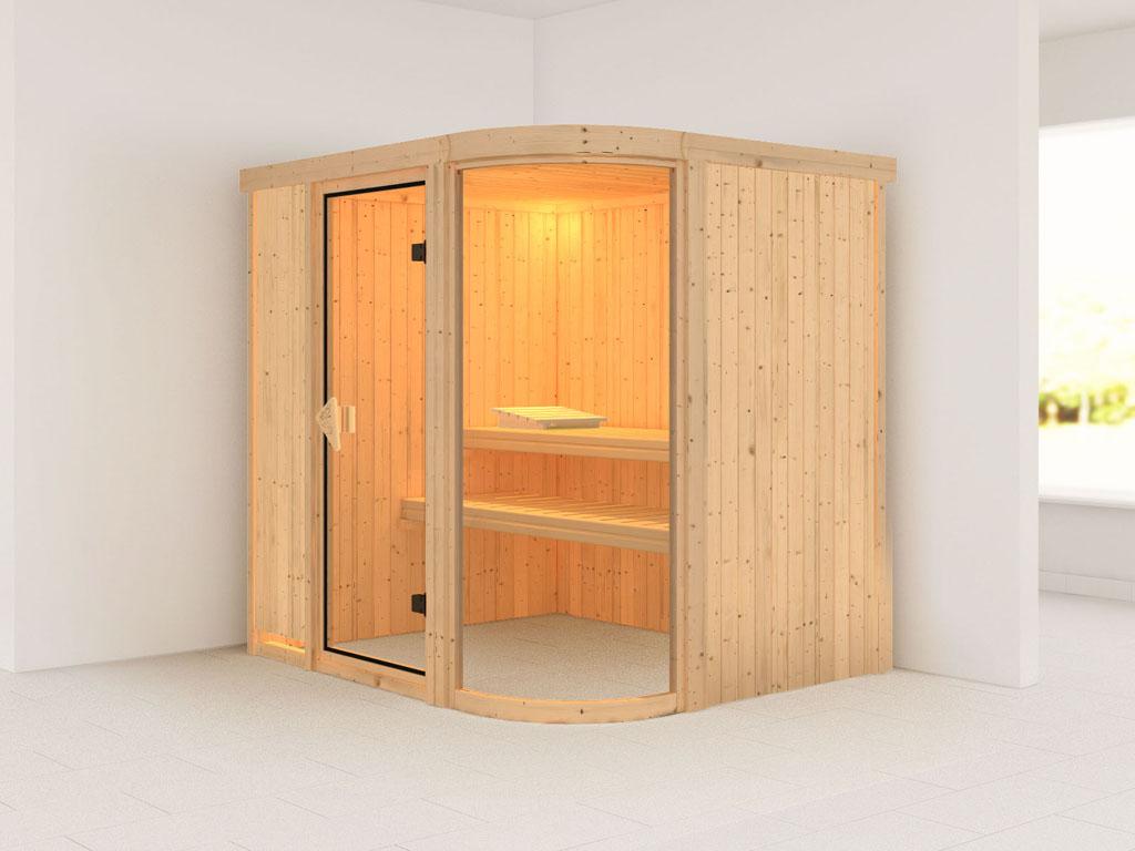 elementsauna parima 2 196x151x198 cm 2 personen. Black Bedroom Furniture Sets. Home Design Ideas
