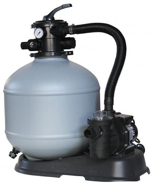 Sandfilteranlage myPOOL 390-80, Ø 390mm, Pumpe 8m³/h, bis 35m³