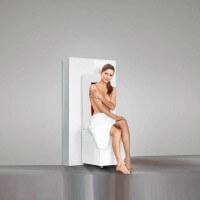 Infrarotanwendung klein Weiß von b-intense für 1 Person für Bad