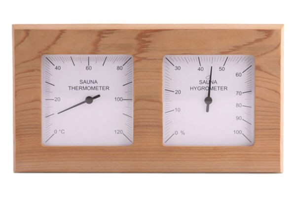 Thermo-Hygrometer Zeder, geteilt